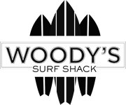 Woody's Surf Shack Logo