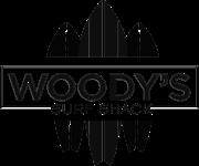 Woody's Surf Shack Logo