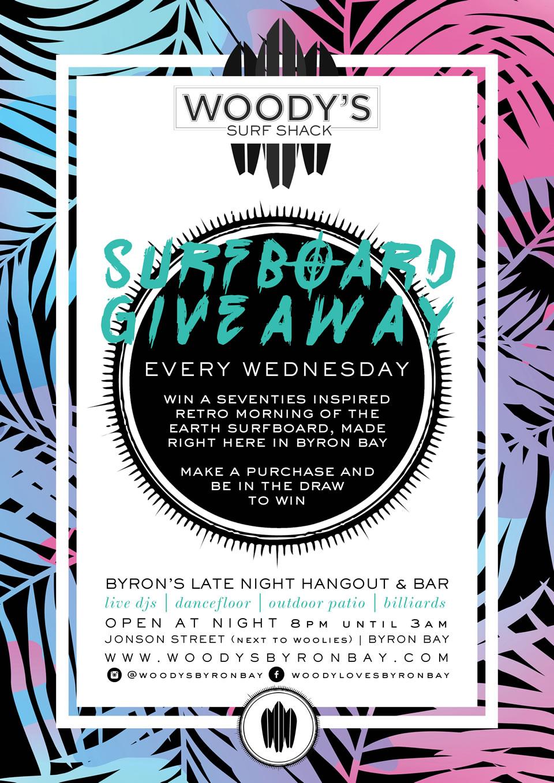 Surfboard Giveaway